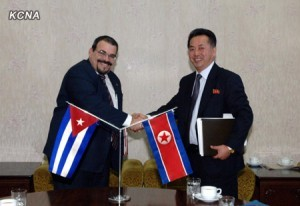 Protocols Inked between DPRK, Cuba