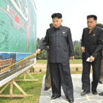 Kim Jong Un Visits Construction Site of Mirim Riding Club