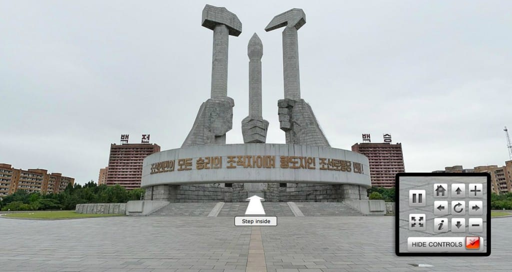 3D Panorama of Pyongyang North Korea