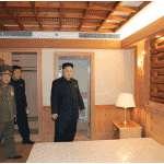 Kim Jong Un Visits Construction Site of Ski Resort on Masik Pass