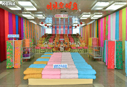 Commodity Exhibition Opens at Pyongyang Department Store No. 1