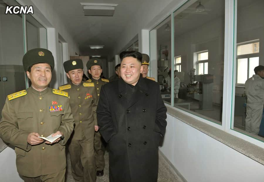 Kim Jong Un Visits Remodeled Sporting Bullet Factory, Meari Shooting Gallery