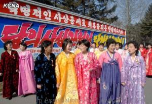 Korean Women on International Women's Day
