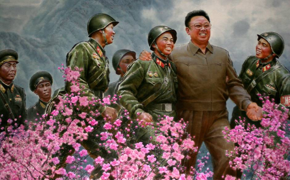 Art Exhibition in Pyongyang Instills Kim Jong Il's Patriotism