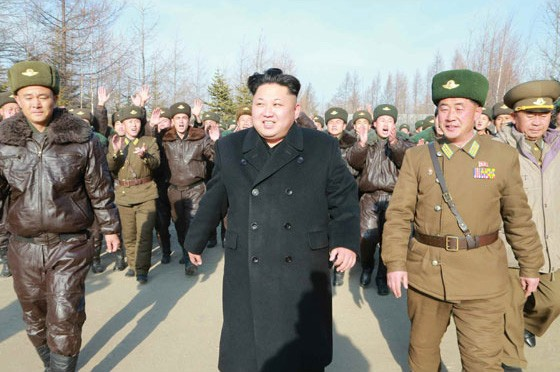 Kim Jong Un Inspects KPA Air and Anti-Air Force Unit