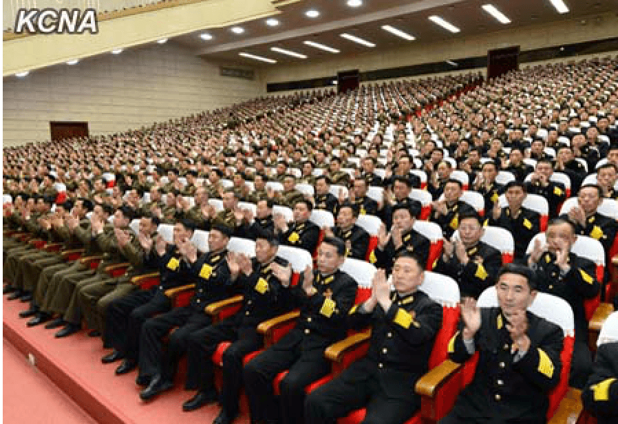 67th Anniversary of Kim Il Sung's Strengthening of KPRA into Regular Revolutionary Armed Forces Marked