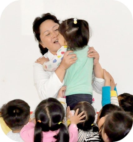 Kim Myong Hwa, chief nurse of the Ryongsong Nursery in Ryongsong District,  has sent all her children for military service to defend their country.
