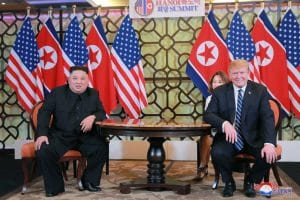 Supreme Leader Kim Jong Un, President Trump Hold Second-day Talks