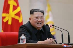 Supreme Leader Kim Jong Un Makes Congratulatory Visit to Ministry of People's Armed Forces