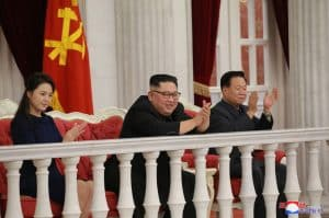 Supreme Leader Kim Jong Un Enjoys Performance with All Commanders of Large Combined Units, Combined Units of KPA