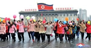 Korean People Mark Lunar New Year's Day
