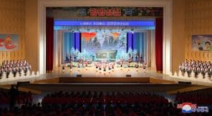 Schoolchildren Give Performance to Celebrate  Day of the Shining Star