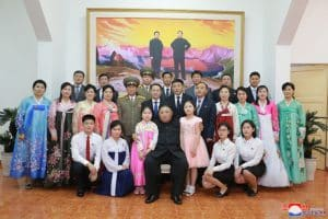 Supreme Leader Kim Jong Un Visits DPRK Embassy in Hanoi