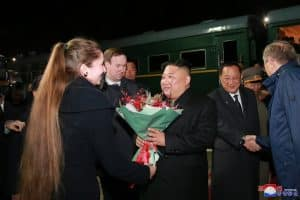 Supreme Leader Kim Jong Un Leaves Vladivostok