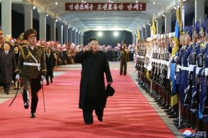 Supreme Leader Kim Jong Un Returns Home after Concluding Visit to Russian Federation