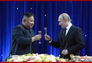 President Vladimir Vladimirovich Putin Hosts Banquet in Welcome of Supreme Leader Kim Jong Un