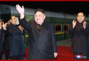 Supreme Leader Kim Jong Un Leaves for Russian Federation