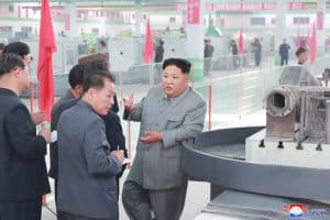 Supreme Leader Kim Jong Un Gives Field Guidance to Phyongnam General Machine Plant