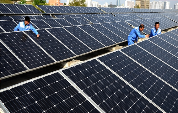 The Ryuwon footwear Factory in Mangyongdae District, Pyongyang, is actively employing renewable energy sources in business activities and production.