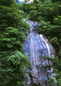 Natural Monument—Chonju Falls  at Puyon-ri