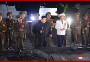 Supreme Leader Kim Jong Un Visits Fatherland Liberation War Martyrs Cemetery
