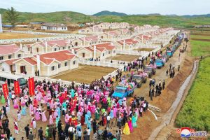 Flood Victims Move to New Houses.