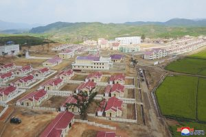 Farmers in Kangbuk-ri Receive New Houses