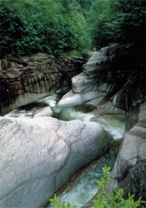 Natural Monument—Ninety-Nine  Curves of Chonsang Stream
