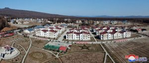 Thousands of Dwelling Houses Built  in Samjiyon City.
