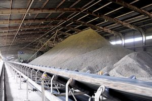 Cement Production Increases.