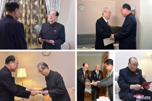 Secretaries of WPK Central Committee  Visit Lodging Quarters of Special Guests