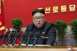 Supreme Leader Kim Jong Un Continues Report on Work of the 7th Central Committee of the WPK