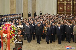 WPK General Secretary Kim Jong Un Visits Kumsusan Palace of the Sun