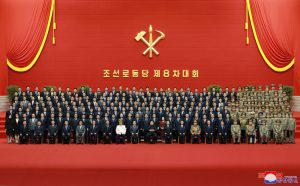 WPK General Secretary Kim Jong Un Has Photo Session with Members of 8th Party Central Leadership Body
