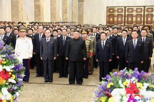 Respected Comrade Kim Jong Un Visits Kumsusan Palace of the Sun