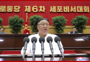 Respected Comrade Kim Jong Un Makes Closing Address at Sixth Conference of Cell Secretaries of Workers' Party of Korea