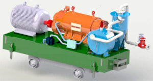 Helical Water-ring Compressor