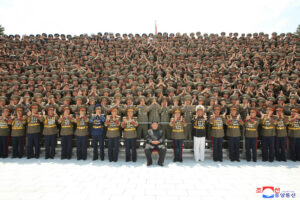 Photo Session with Participants in First Workshop of KPA Commanders and Political Officers